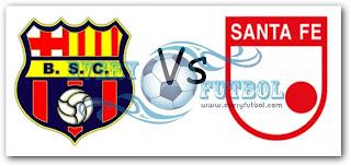Partido Barcelona Vs Independiente Santa Fe