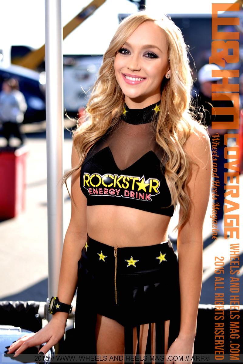 rockstar energy girls ass