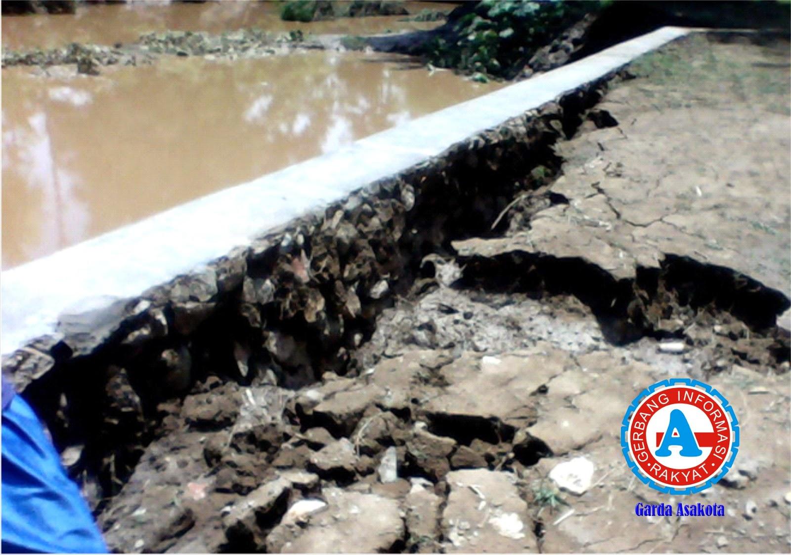 Kontraktor Siap Perbaiki Bendungan Rusak di Desa Melaju