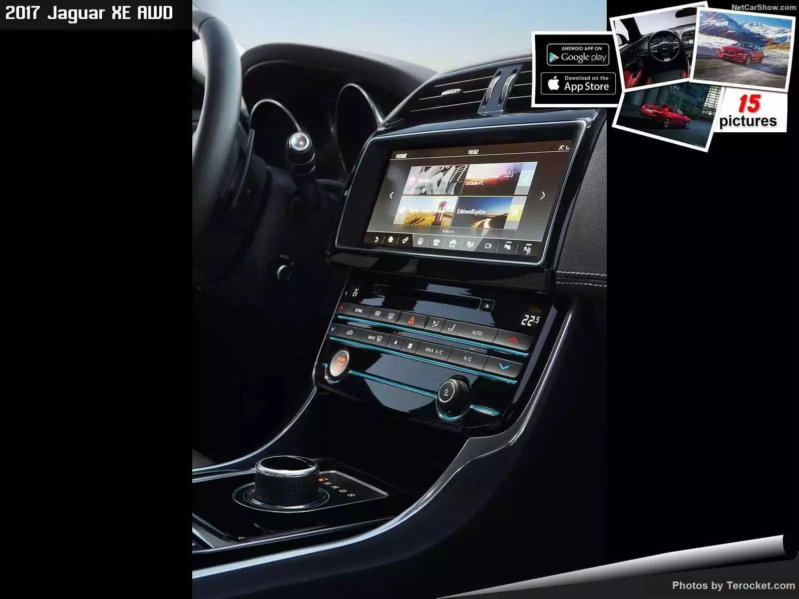 Hình ảnh xe ô tô Jaguar XE AWD 2017 & nội ngoại thất