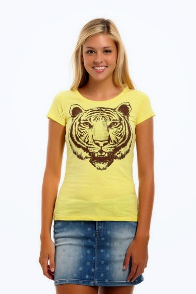 New Simple Designs of T-shirts For Girls