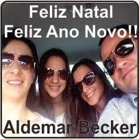 Laranjeiras do Sul:Aldemar Becker e família desejam a todos um Feliz Natal e um Próspero ano novo!!