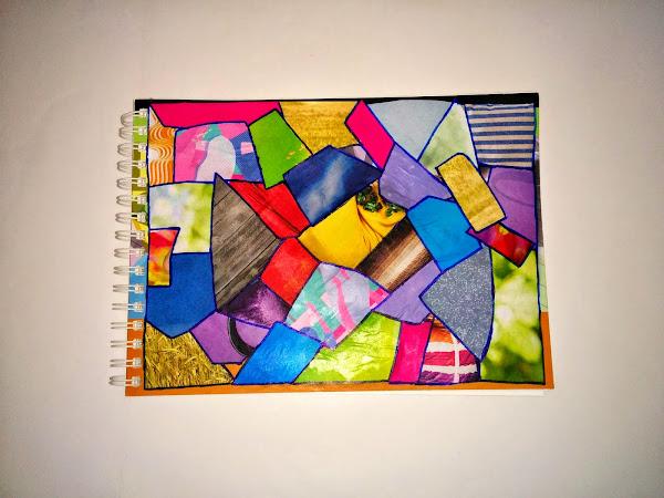 Cuaderno en goma eva aprender manualidades es - Como decorar cuadernos ...
