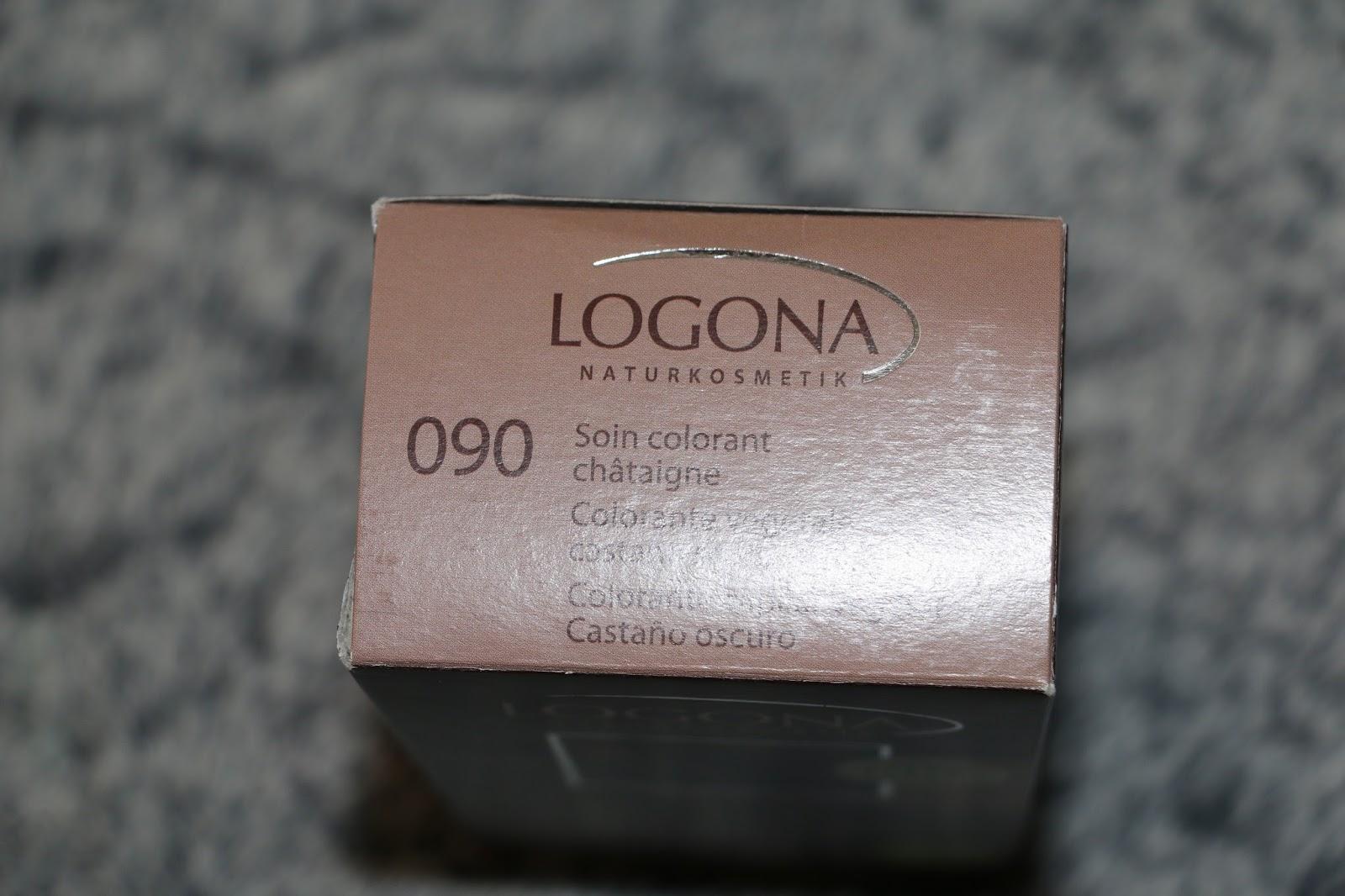 voici ce quelle contient la poudre de coloration une charlotte une paire de gants et la notice - Coloration Logona Chataigne