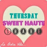 I am featured in Sweet Haute Thursday Linky Party!
