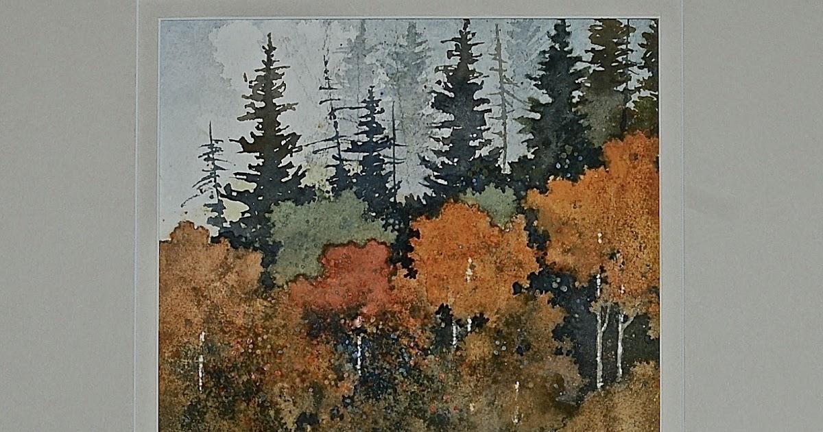 landscapes in watercolor. Black Bedroom Furniture Sets. Home Design Ideas