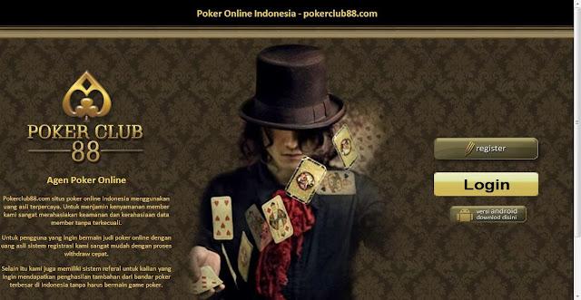 daftar judi poker online uang asli pokerclub88