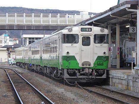 石巻線 ワンマン 小牛田行き キハ48形