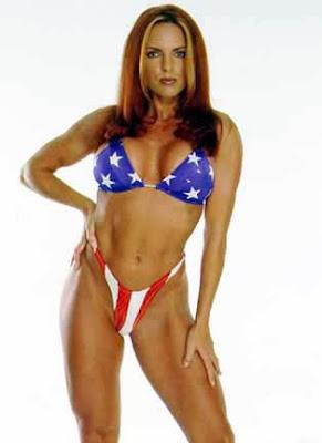 Teri Byrne - WCW Nitro Girl Fyre