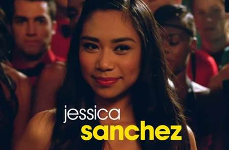 Jessica Sanchez as Frida Romero on Glee Season 4