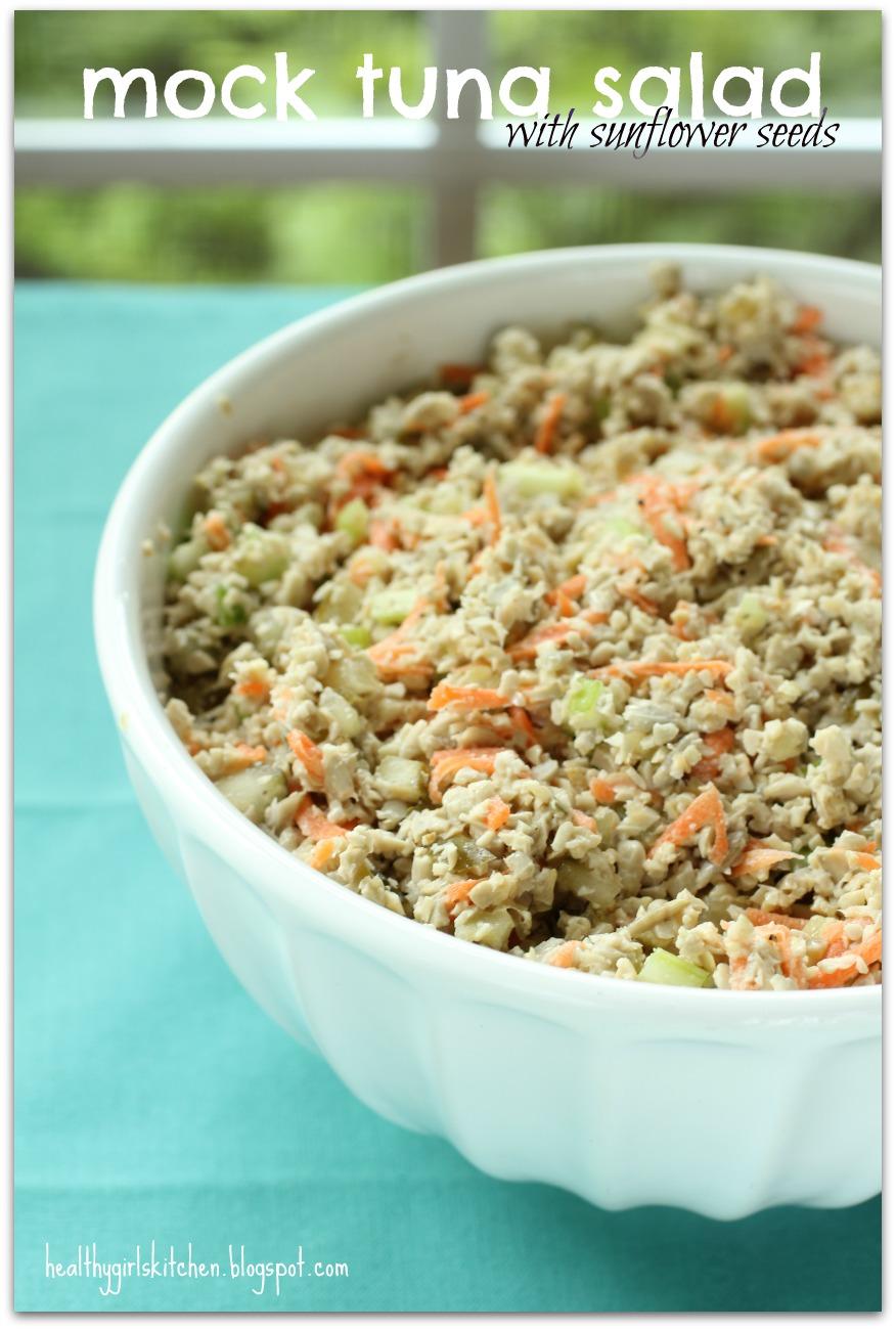 Healthy Girl's Kitchen: Mock Tuna Salad-Three Ways