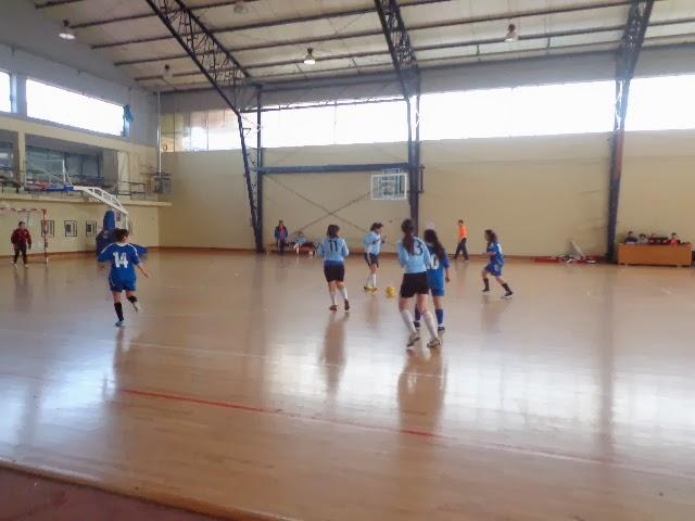 El Femenino de la EF Atenas participa en Torneo de Futsal.