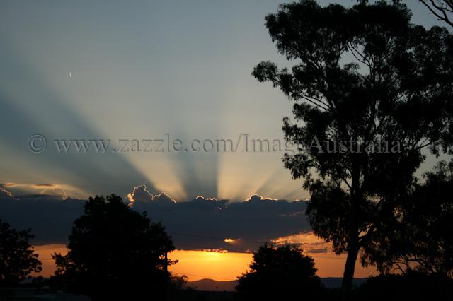 Sunset Canberra Australia - © CKoenig
