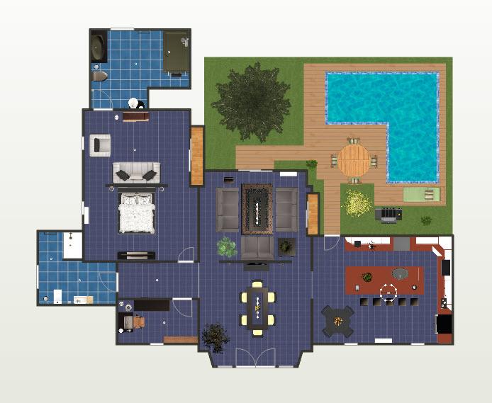Como hacer planos para casas f cilmente programas gratis for Disenar habitaciones online 3d