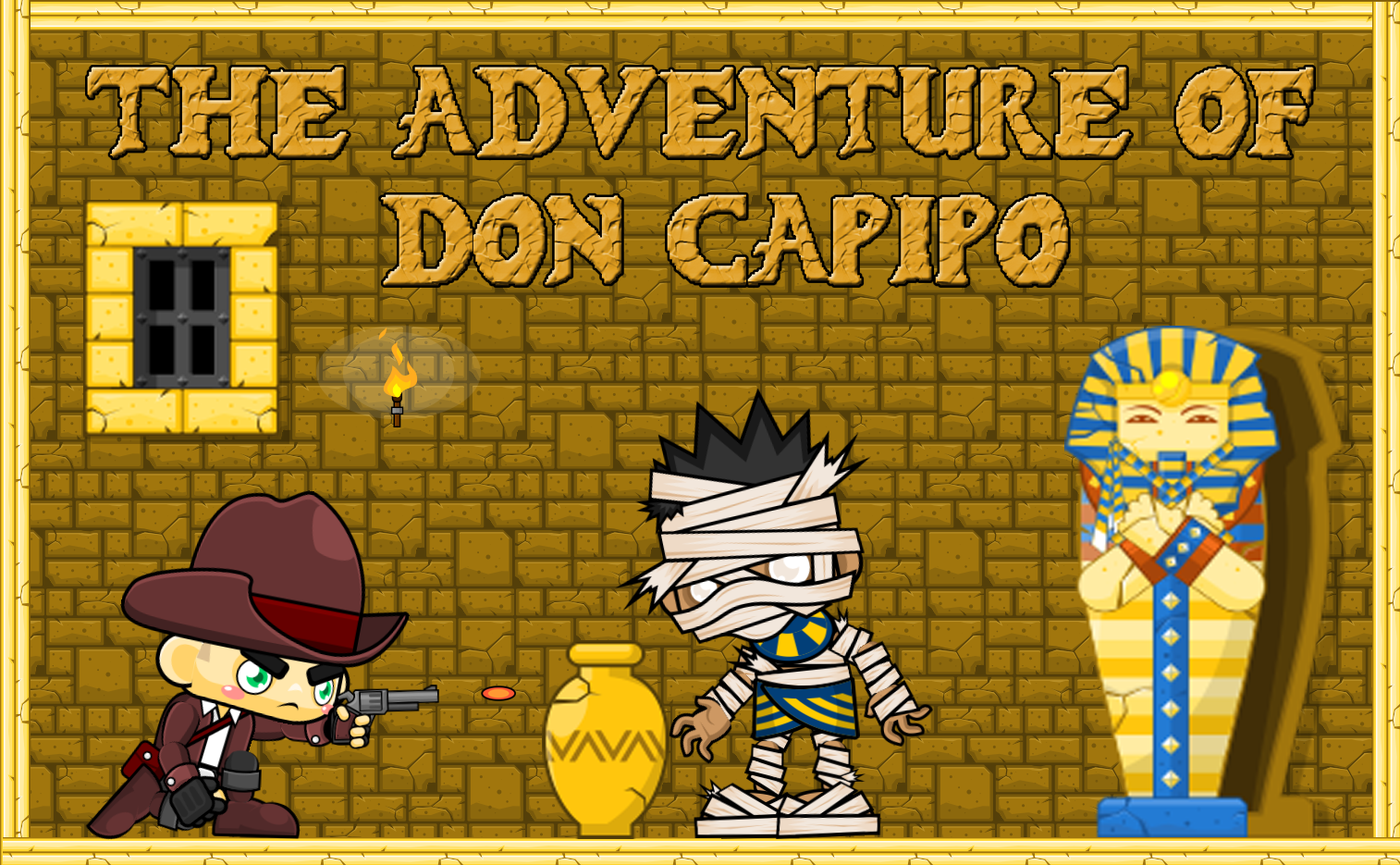 THE ADVENTURE OF DON CAPIPO