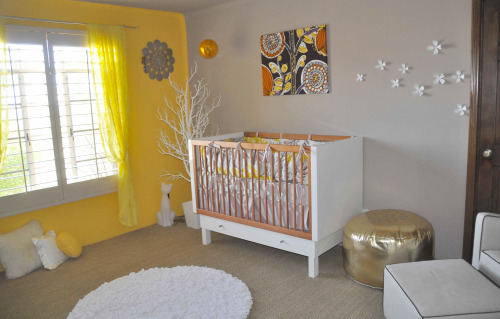 modern style baby room decorations