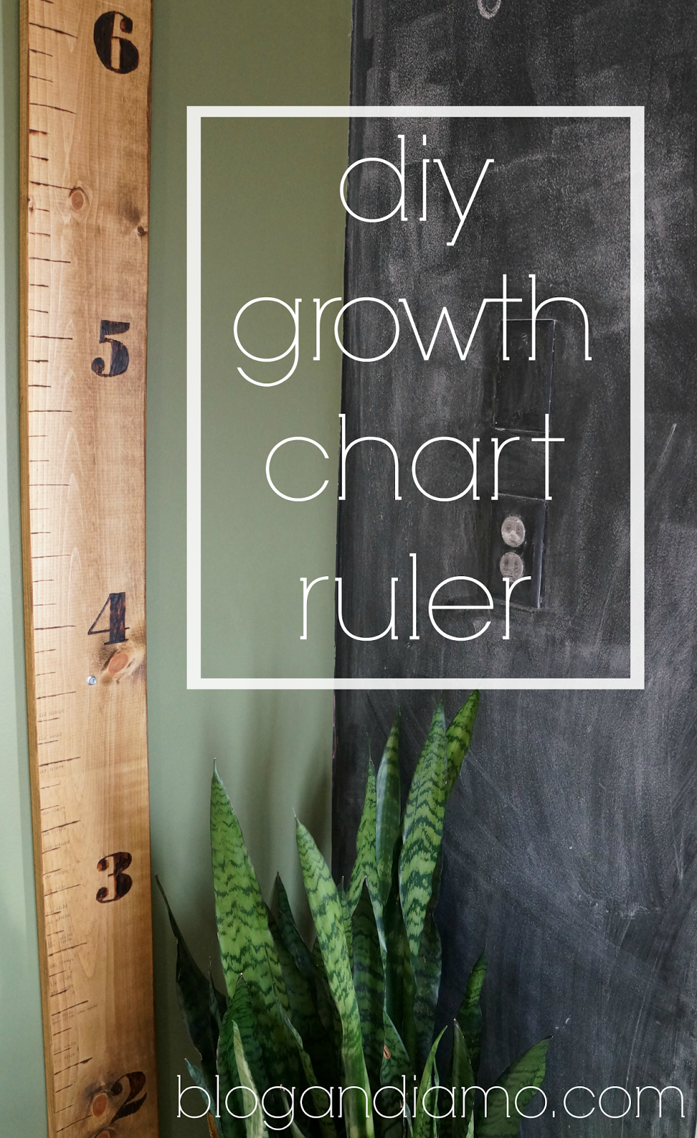Diy growth chart ruler andiamo diy growth chart ruler 11102015 i get these ideas you see and then i just run with them and i dont stop until its done like this ruler business nvjuhfo Gallery