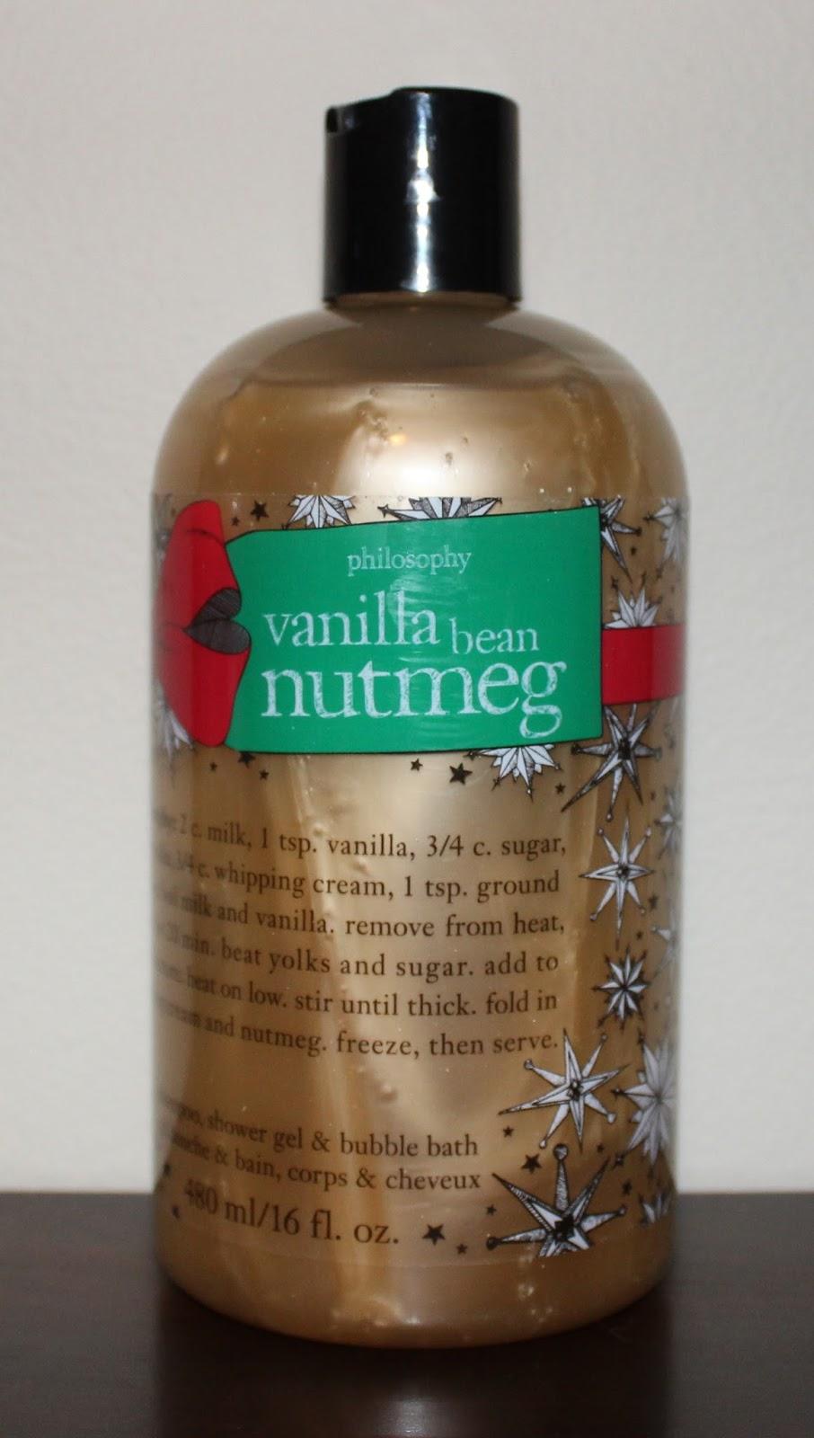 beyond blush philosophy holiday 2015 gift ideas philsophy vanilla bean nutmeg 3 in 1 shampoo shower gel bubble bath