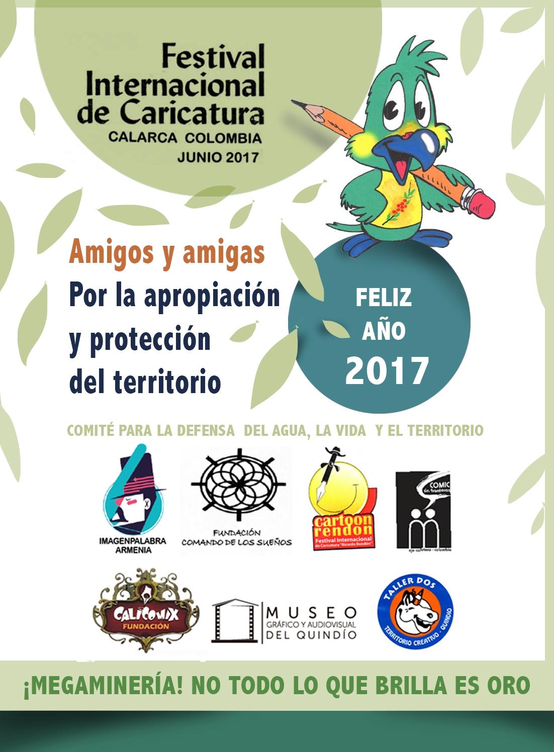 FESTIVAL INTERNACIONAL DE CARICATURA CALARCÁ, QUINDÍO