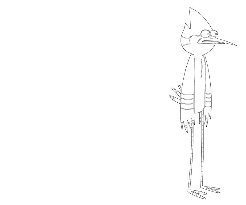 printable-mordecai-dance_coloring-pages