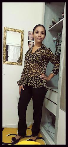 Inspiração de hoje: animal print ,uma blusa e 3 looks diferentes para você arrasar