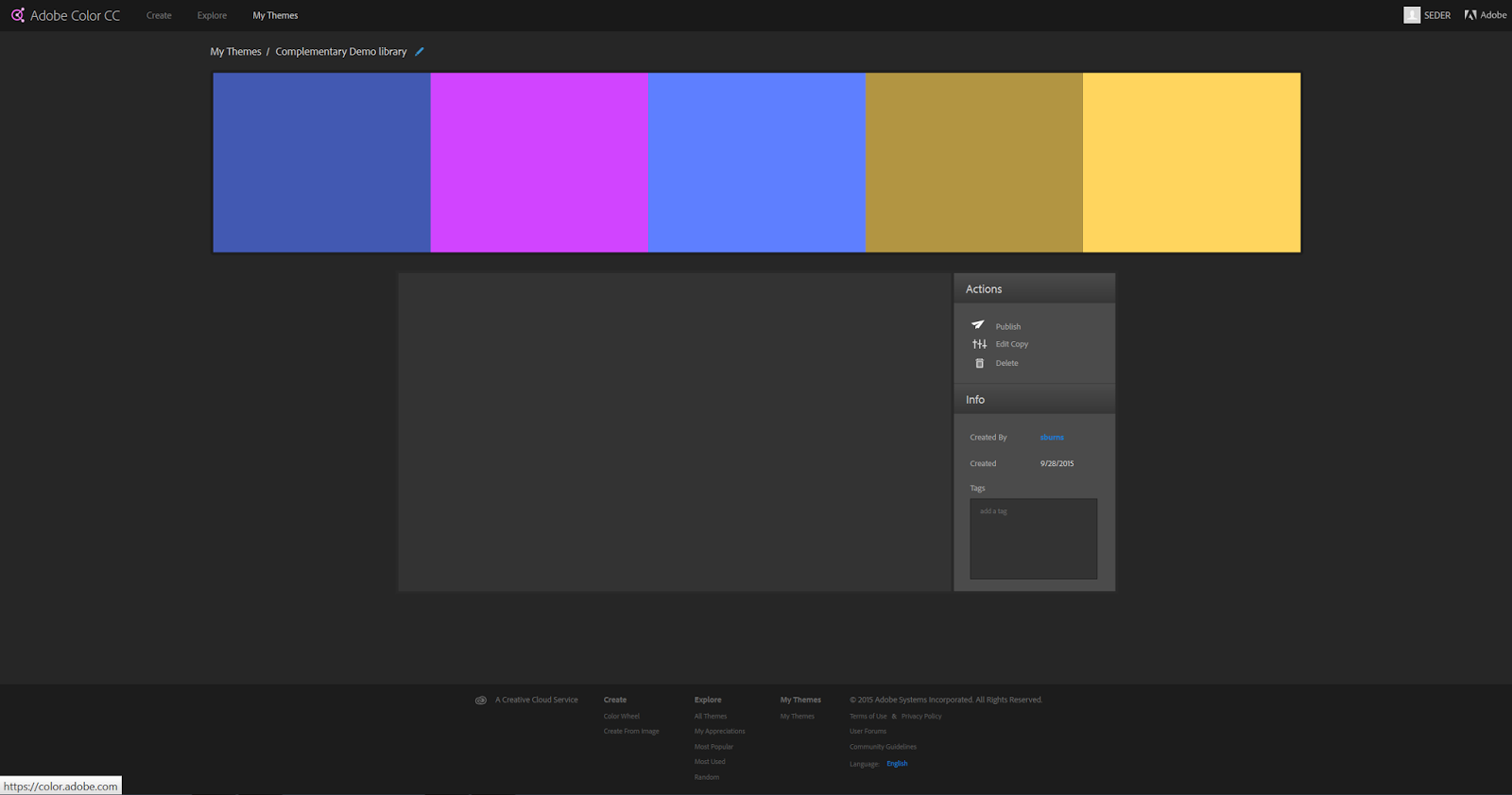 Color adobe online - I Strongly Encourage You To Use Adobe Color To Create A Color Scheme For Your Map You Can Save Your Color Theme To Your Library