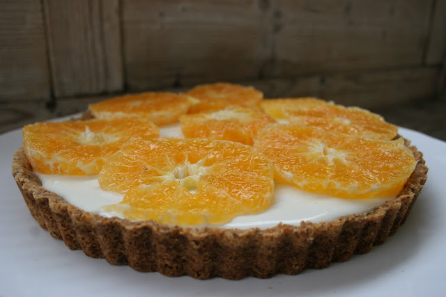 Orange & Yogurt Tart