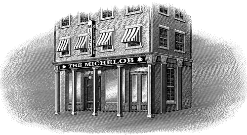 04-Old-Tavern-Michael-Halbert-Scratchboard-Images-of-Animals-and-Architecture-www-designstack-co