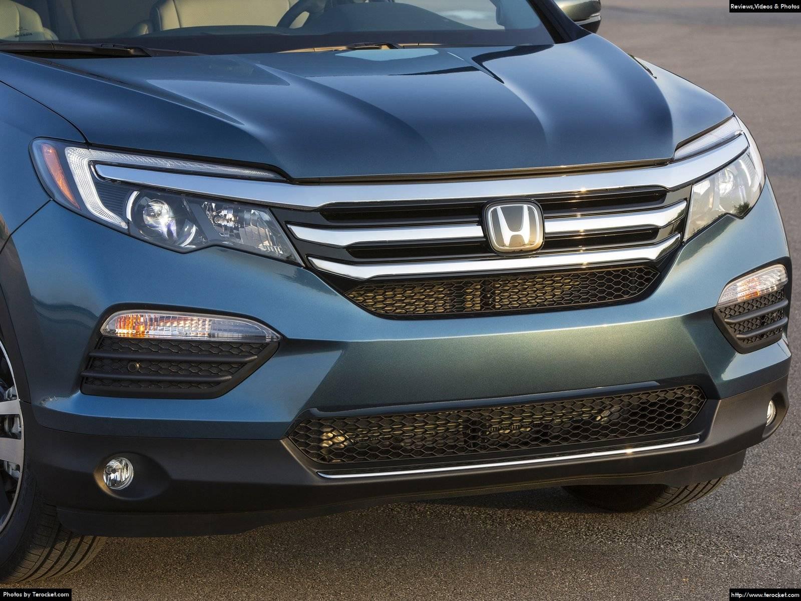 Hình ảnh xe ô tô Honda Pilot 2016 & nội ngoại thất