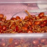 foto ikan asin teri sambal kacang bahan bahan 100 gr ikan teri goreng ...