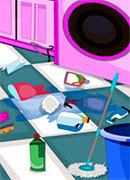 Уборка в прачечной - Онлайн игра для девочек