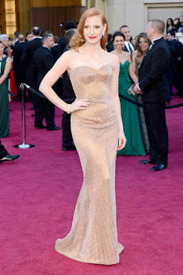 jessica chastain 2013 Academy Awards