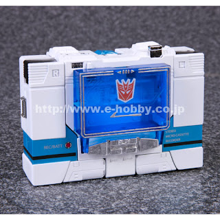 Tomy - Takara Transformers eHobby Blaster vs Soundwave figure set with cassettes