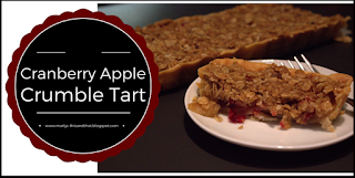 A delicious dessert that is sweet and tart in each bit, made with cranberries, apples and Kraft caramel bits.