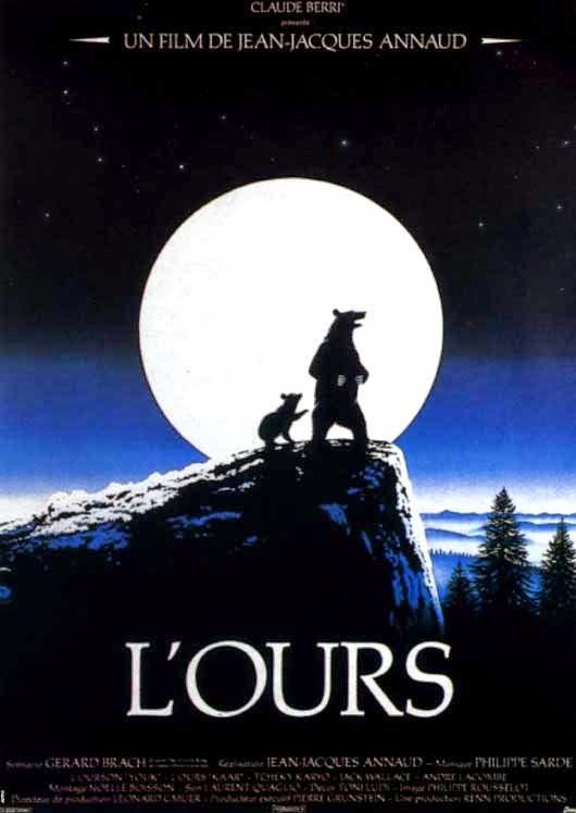 O Urso (1988) poster filme