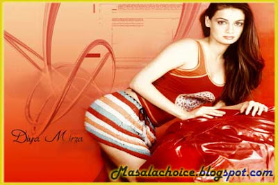 Diya Mirza Hot Movies List and Hot Video Songs Diya Mirza Hot Wallpapers