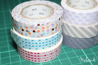 washi tapes // photo by Melani A - magsbeadscreation.com
