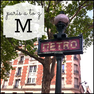 Paris A to Z: M is for Metro