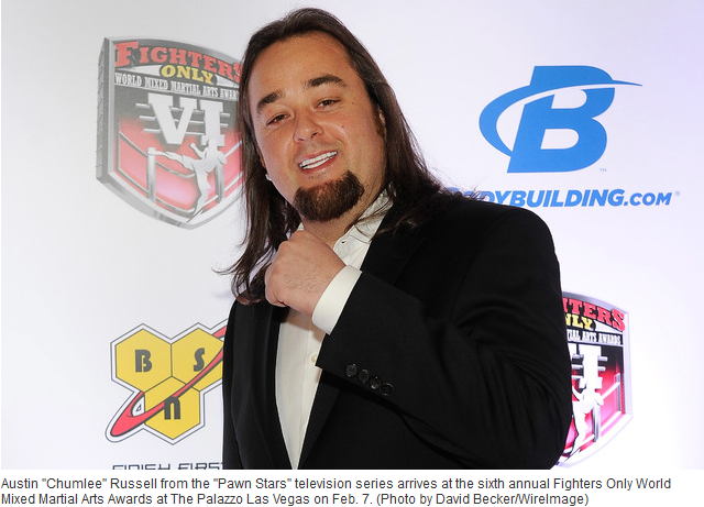 'Pawn Stars' Chumlee is still alive, he doesn't look dead at all