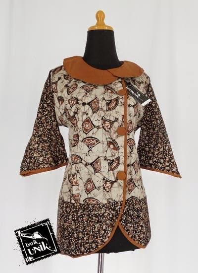 Foto Baju Batik Kombinasi