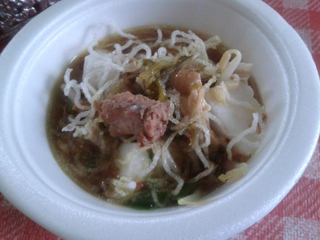 Soto Ayam dan Sagu Gula Melaka