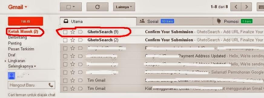 Cara Termudah Membuka Pesan Email Yahoo dan Gmail Google