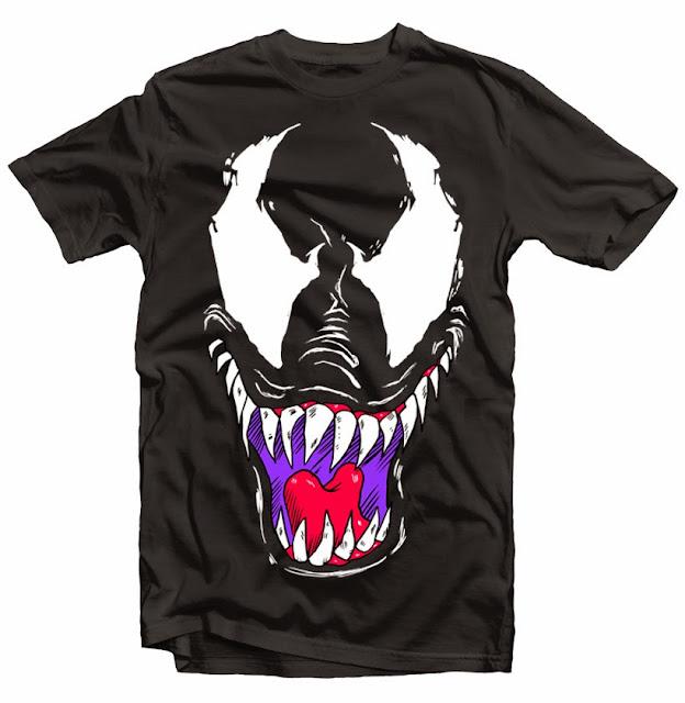 venom tshirt design