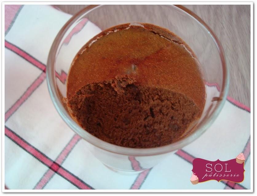 Mousse au chocolat diététique - Mousse de chocolate diet