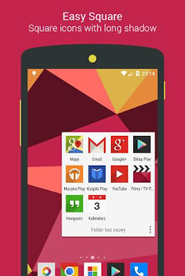 Easy Square Icon Pack 2.4.8 APK for