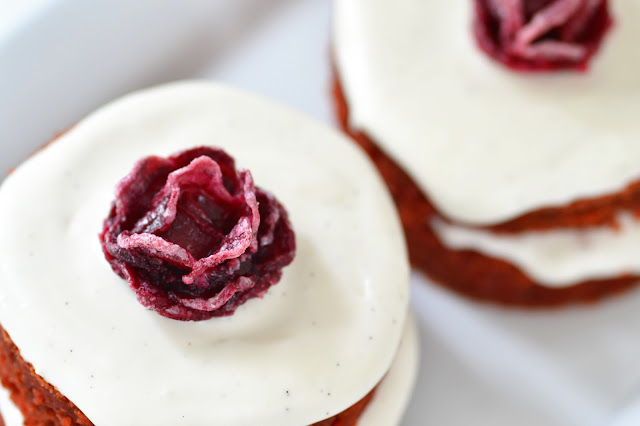 Candied Beet Rose