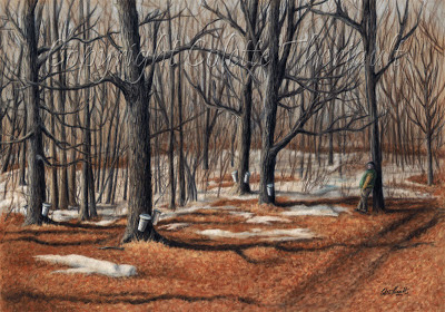 Landscape Paintings in Pastel by Award Winning Canadian Artist Colette Theriault