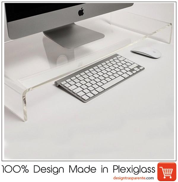Esclusivo in plexiglass - Supporto tv da tavolo ikea ...