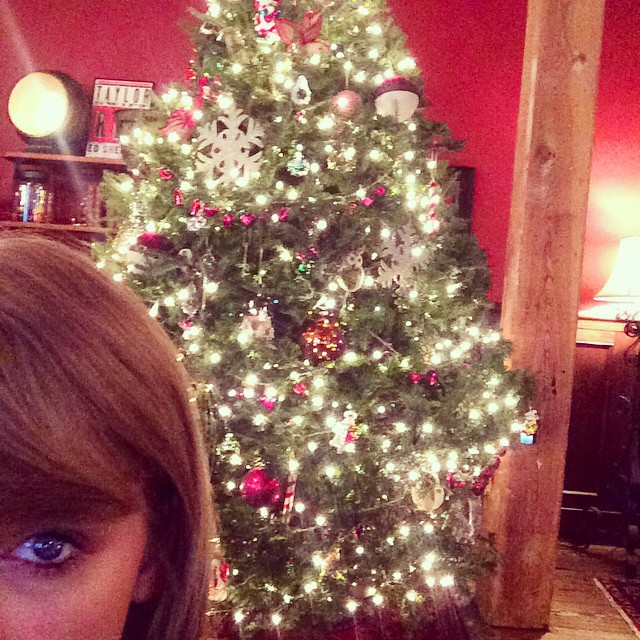 The Best Of Celebrity Christmas Trees @taylorswift - Cool Chic Style Fashion