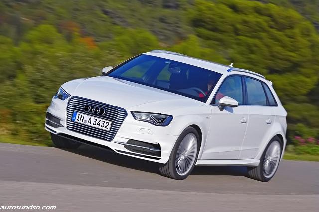 Audi A3 Sportback with Plug-In-Hybrid
